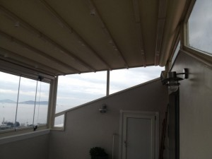teras otomatik tente