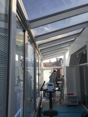 cam çatı nişantaşı