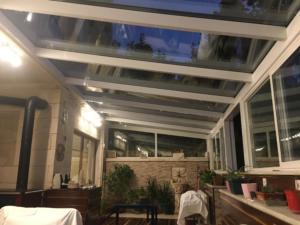 Cam catı , Kış Bahçesi