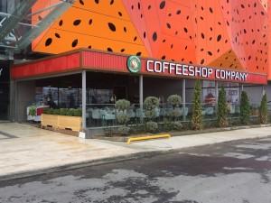caffe shop otomatik tente